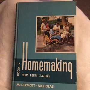 """Vintage Book """"Home making for teen- agers"""""""